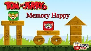 Tom And Jerry - Memory Happy. Fun Tom and Jerry 2017 Games. Baby Games #LITTLEKIDS