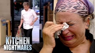 Gordon Ramsay's Hummus-Prank Ends in Tears | Kitchen Nightmare
