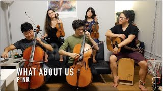 Download Lagu WHAT ABOUT US | P!nk || JHMJams Cover No.170 Gratis STAFABAND