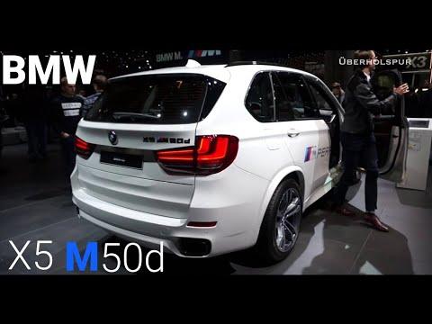 2018 bmw x5 m50d exterior/interior walkaround (iaa 2017