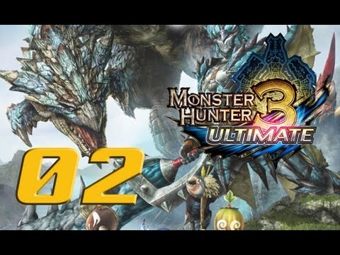 LET'S PLAY MONSTER HUNTER 3 ULTIMATE - PORT TANZIA - 02