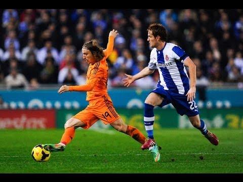 Luka Modric Best Skills & Passes 2014