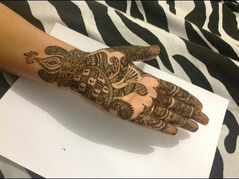 Unique Best Henna DesignTutorial For Special Occassions, Eid, Karwa Chauth, Wedding, Mehndi Tattoo