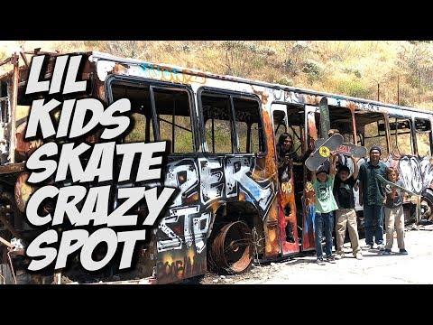 SKATER KIDS FIND CRAZY ABANDONED MILITARY BASE !!! - NKA VIDS -