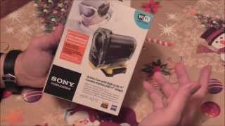 Экшн камера Sony HDR-AS15 Анбоксинг и Обзор (Action camera Sony HDR-AS15 POV)