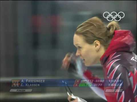 Klassen - Speed Skating - Women's 1500M - Turin 2006 Winter Olympic Games