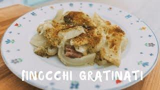 Finocchi gratinati al forno | Ricetta light