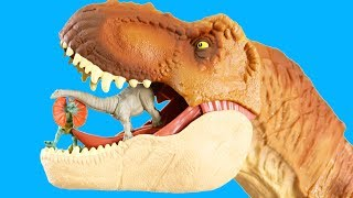 Jurassic World Fallen Kingdom Mini Action Dino Surprise Toys With T-Rex