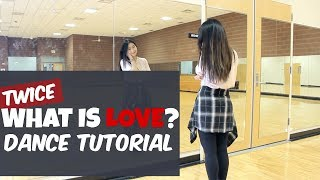 "TWICE(트와이스) ""What is Love?"" Lisa Rhee Dance Tutorial"