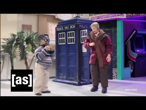 Doctor Who Meets The Nerd | Robot Chicken | Adult Swim