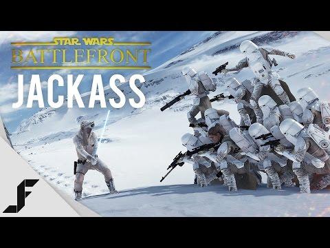 Star Wars Battlefront JACKASS!