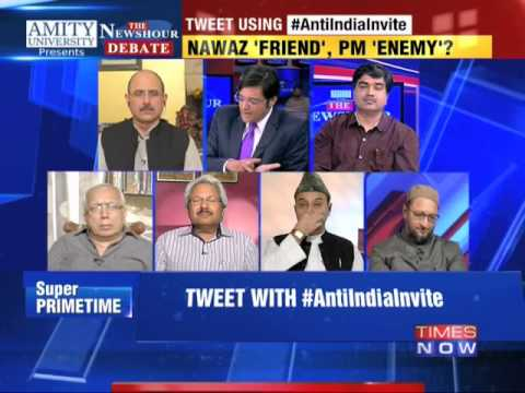 The Newshour Debate: Shahi Imam's Anti India Invite - Full Debate (30th Oct 2014)