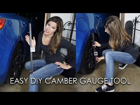 BUILD YOUR OWN CAMBER GAUGE TOOL!