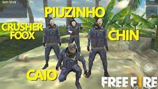 FUI X1 CONTRA VÁRIOS YOUTUBE DE FREE FIRE !