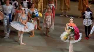"""La Bayadere"". Applause after the 2nd act."