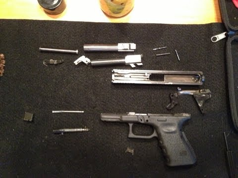 How to Break Down a Glock 23 - Total Disassembly