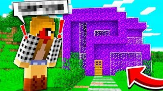 TURNING A GIRL'S HOUSE INTO PORTALS IN MINECRAFT! *PRANK* w/ MooseCraft (Minecraft Kids Roleplay)