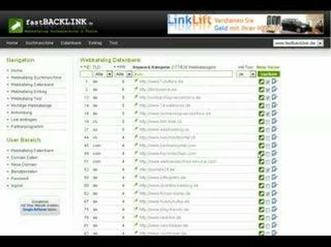 fastBACKLINK.de - Themen spezifische Backlinks in Sekunden