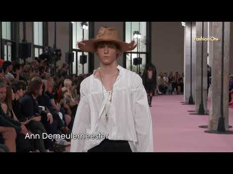 Paris Fashion Week Men's SS19 Day 3 Highlight