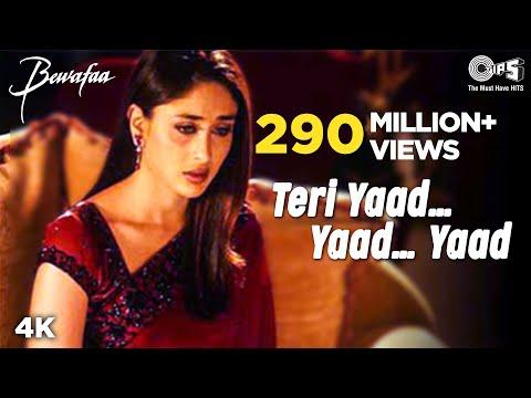 Teri Yaad...Yaad...Yaad - Bewafaa | Anil Kapoor & Kareena Kapoor...
