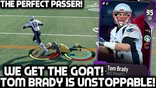 PLAYOFFS TOM BRADY IS UNSTOPPABLE! THE PERFECT PASSER! Madden 18 Ultimate Team