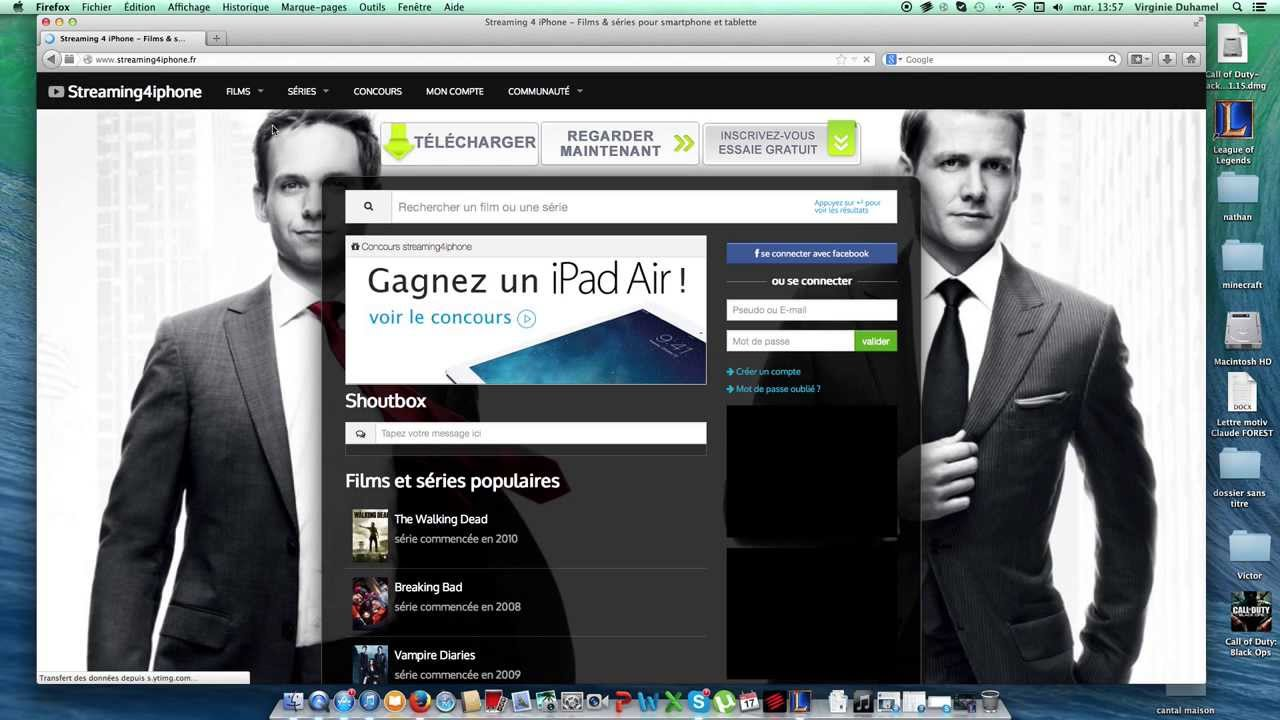 Comment t l charger des films grauitement sur mac pc - Comment telecharger open office sur mac ...