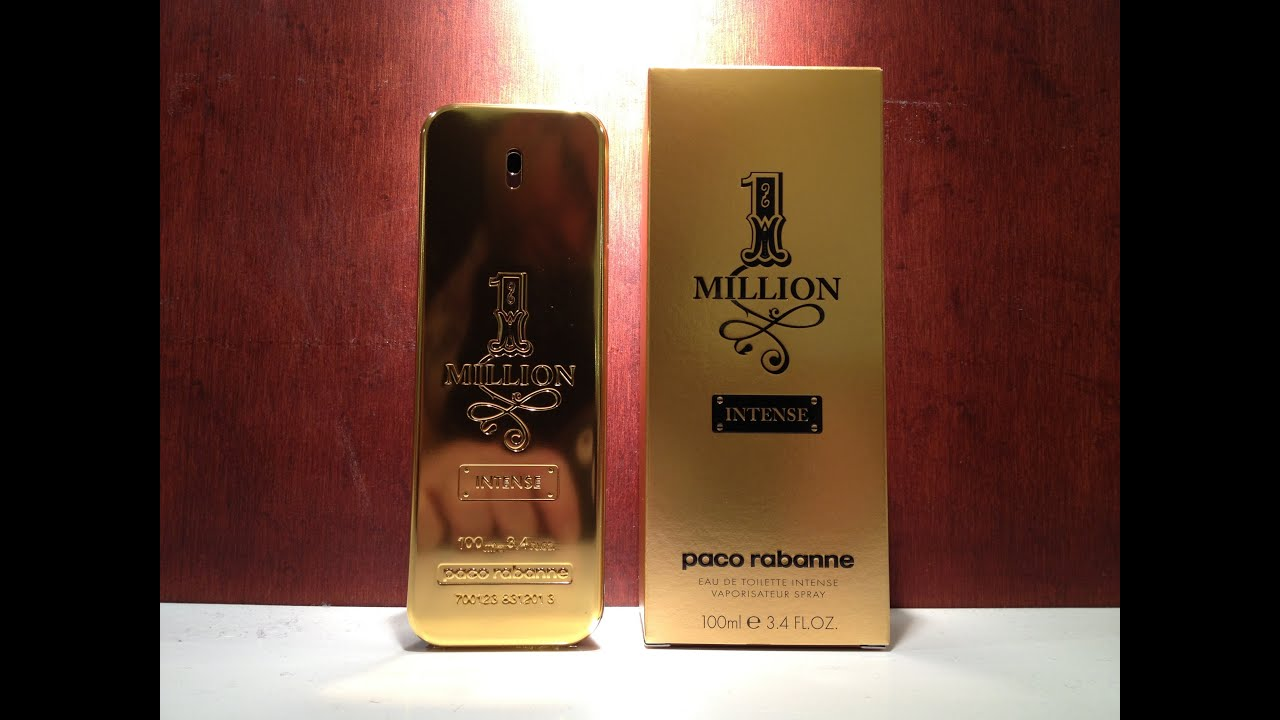 paco rabanne 1 million intense new 2013 review youtube. Black Bedroom Furniture Sets. Home Design Ideas