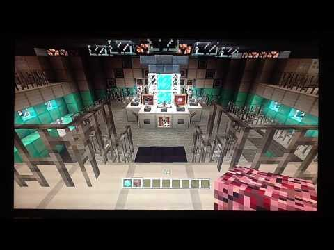 Minecraft Xbox 360 Edition 11th Doctor influenced TARDIS