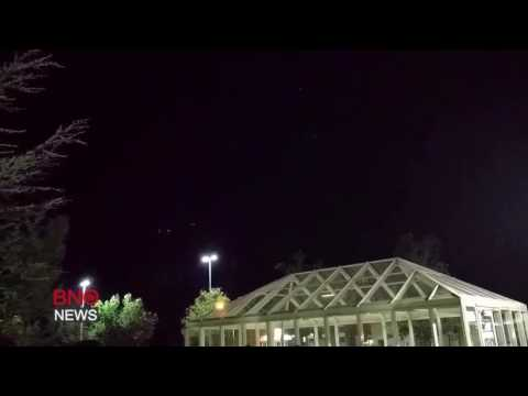 Meteor or space debris breaks up over United States
