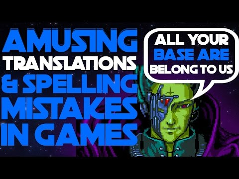 16 Amusing Video Game Mistranslations and Spelling Mistakes