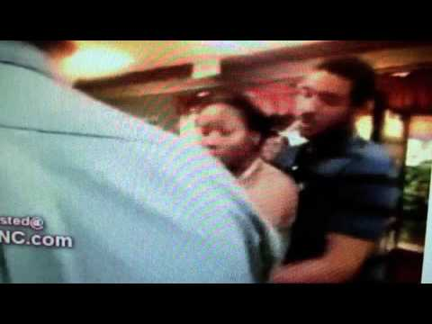black girl attacks white lady and her little girl at mcdonalds