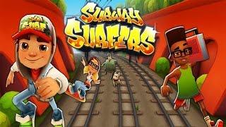 Trò chơi Subway Surfers chạy lụm vàng bị ông già noel dí   cu lỳ chơi game #58   funny gameplay