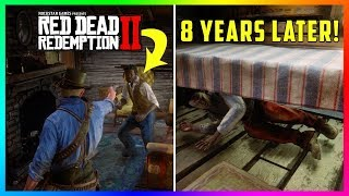 What Does The Son Do If You Kill His Father At Catfish Jacksons In Red Dead Redemption 2? (RDR2)