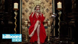Taylor Swift Tops Billboard Hot 100 with 'Look What You Made Me Do' | Billboard News