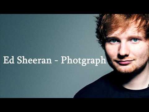 Ed sheeran- photograph (lyrics)