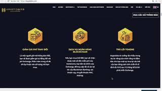 KRYPTOBITS com Ngân Hàng Blockchain