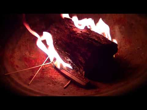 Binaural ASMR:  Fire, Roasting Marshmallows, and Making S'mores for Relaxation