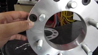 WHEEL ADAPTERS  (CHANGE YOUR BOLT PATTERN)