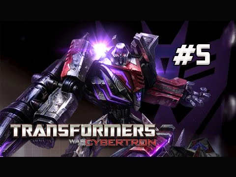 Transformers War for Cybertron Walkthrough - Part 5 [Chapter 1] Dark Energon Power Let