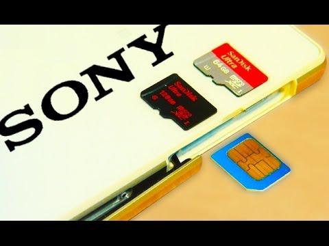 Sony Xperia Z2 Micro SD / Sim Card Install Setup Format
