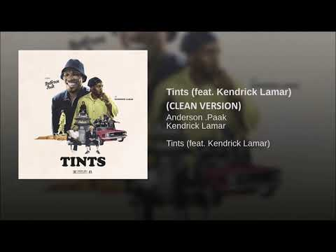 Tints (CLEAN VERSION) Anderson Paak Ft Kendrick Lamar MP3
