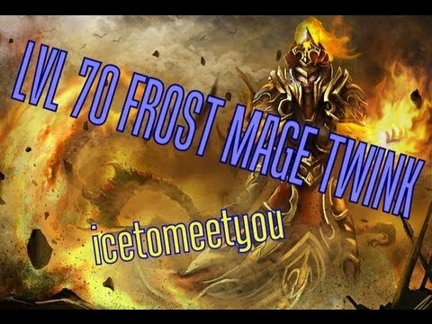 ★icetomeetyou★ Lvl 70 Frost Mage Twink In Mop 2 (arena Montage) Hd ! video