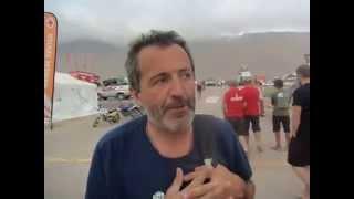 Dakar 2015: Giulio Verzeletti a Iquique