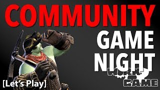 Community Game Night! Let's prep for SHB