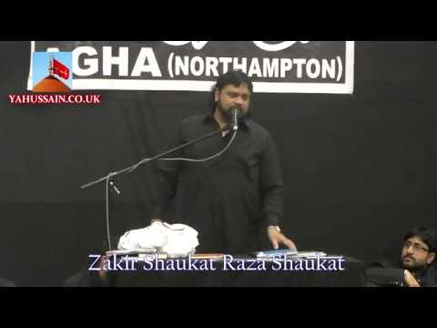 Zakir Shaukat Raza Shaukat (Multan) - AGHA - Northampton (UK) - 24th July 2016