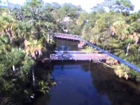 Florida Travel Vlog Day 5: Ziplining at The Brevard Zoo, Melbourne, FL