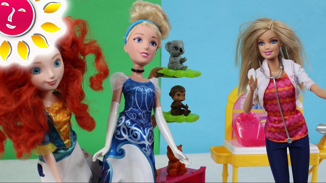 Barbie Weterynarz - Barbie - Barbie Careers & Disney Princess - Bajki po polsku