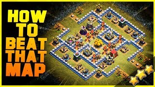 """How to 3 Star """"GRAND AVENUE"""" with TH10, TH11, TH12 
