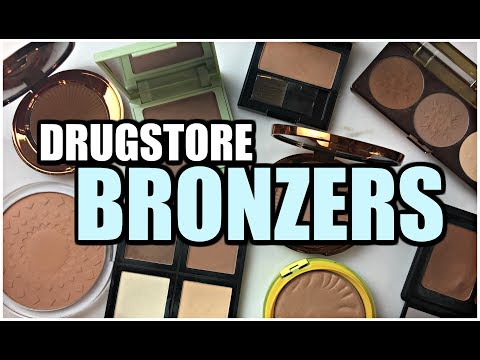 DRUGSTORE BRONZER COLLECTION   Mini-Reviews & Swatches