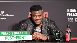 "Francis Ngannou says Daniel Cormier Should ""Come and Avenge His Teammate"""